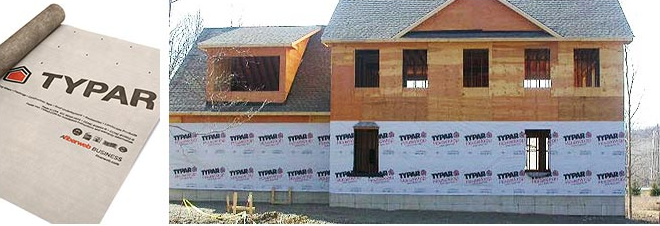 Snavely Forest Products 187 Typar Housewrap